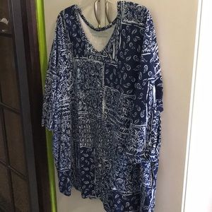 Blouse 3x NWT Woman Within